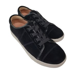 Vionic Jean Suede Sneakers   EUC